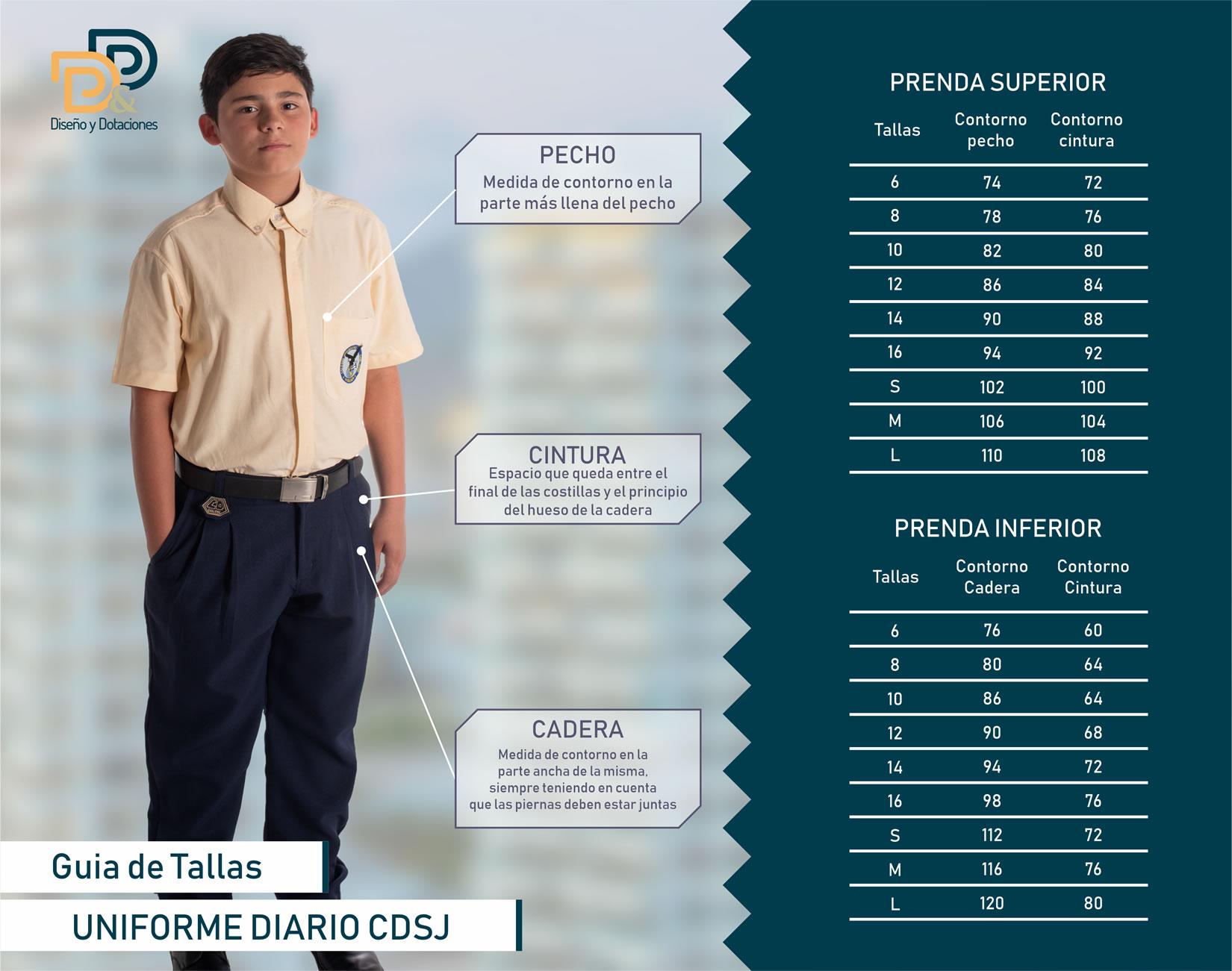 Pantalón de Diario CDSJ