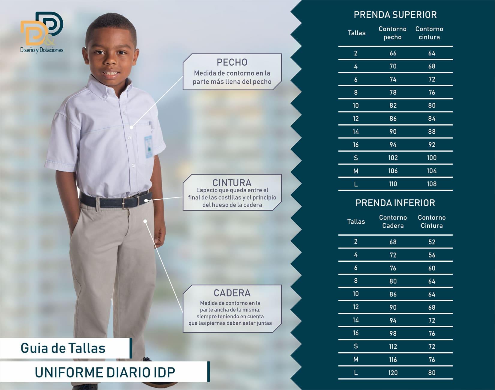 Pantalón de Diario Niño IDP